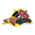 Přední brzdové destičky EBC Yellowstuff na Abarth Grande Punto 1.4 Turbo 155PS (08-10)