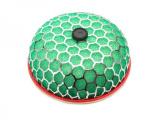 Sportovní filtr HKS style Super Power Flow houba - zelená - 100mm