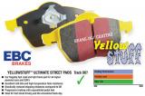 Přední brzdové destičky EBC Yellowstuff na Ford Focus Mk2 ST 2.5 Turbo 225PS (05-11) EBC Brakes
