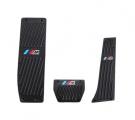 Pedály ProRacing pro BMW 1-Series E81 / E82 / E87 / E88 / F20 / F21 s logem M technik - automatická převodovka - černé