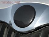 Kryt emblému - černá metalíza, Superb I. 2002-2008 / Superb II. 2008-2013