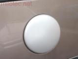 Kryt emblému - stříbrný matný, Superb I. 2002-2008 / Superb II. 2008-2013
