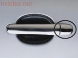 Kryty klik malé, nerez (ušlechtilá ocel), 4x bez otvoru pro zámek