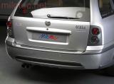 Práh pátých dveří, kombinace černý-stříbrný matný, Octavia I. Limousine 1997-2005