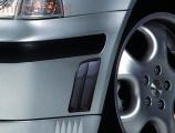 Boční výdechy předního nárazníku- karbonový design, Škoda Octavia I. 1997-2000