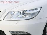 """Kryty světlometů (mračítka) """"RS"""", Octavia II. Facelift Lim./Combi/RS, 2008-2012"""