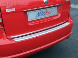 Práh pátých dveří s výstupky, stříbrný matný, Octavia II. Facelift Limousine 2008-2012