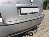 Práh pátých dveří s výstupky, stříbrný matný, Octavia I. Limousine 1997-2005