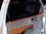 Dekor dveří horní - ABS s povrchem kořenového dřeva, Fabia I. Lim./Sedan 2000-2007