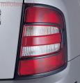 Kryty zadních světel - karbon design, Fabia I. Combi/Sedan 2000-2004