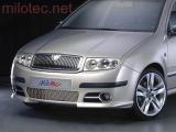 Rámečky mlhových světel - ABS-chrom, Fabia I. Facelift Lim./Combi/Sedan 2004-2007