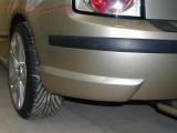 Rozšíření zadního nárazníku - stříbrné matné, Fabia I. Combi/Sedan 2000-2007