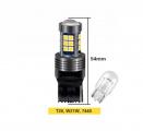 LED žárovky T20 / W21W / 7440 - bílé