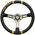 Volant Momo Drifting 350mm - černý/žlutý