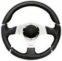 Volant Momo Millenium Sport 320mm - černý/stříbrný (homologace)