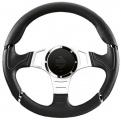 Volant Momo Millenium Sport 350mm - černý/stříbrný