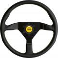 Volant Momo Monte Carlo 350mm  - černý/žlutý
