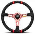 Volant Momo Ultra 350mm - černý/červený