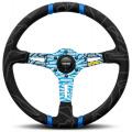Volant Momo Ultra 350mm - černý/modrý