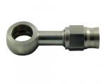 Banjo rovné D-03 (AN3) - délka 40mm - průměr oka 11,2mm - nerezové