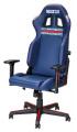 Kancelářská židle Sparco Martini Racing  - modrá