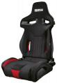 Sportovní sedačka Sparco R333 - černá/červená