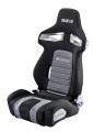 Sportovní sedačka Sparco R333 - šedá/černá
