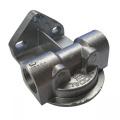 """Externí relokační držák olejového filtru Mocal - 1x vývod 1/2""""-BSP na každé straně"""