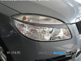 Mračítka předních světel - pro lak, Škoda Roomster