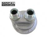 Relokační adaptér k olej. filtru Mocal - vývody D-08