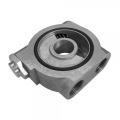 Adaptér pod olejový filtr Mocal High Flow s termostatem - vývody M18 x 1.5