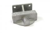 """Externí relokační držák olejového filtru Mocal - 1x vývod 1/2""""-BSP na každé straně - levý"""