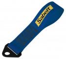Přední odtahové oko textilní Sabelt - modrá