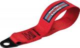 Přední odtahové oko textilní Sparco - červená Martini Racing