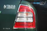 Rámeček zadních světel - chrom,(Škoda Octavia 2001)