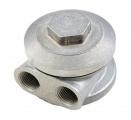 Relokační adaptér k ol. filtru Mocal M20 x 1.5 - boční vývody M18 x 1,5