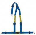 Bezpečnostní pás Sabelt Clubman 3-bodový modrý - karabina (E homologace)