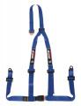 Bezpečnostní pás Sandtler Sponsor 3-bodový modrý - očko (E homologace)