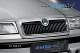 Lišta masky - černý desén (Škoda Felicia Facelift od r.v. 98)