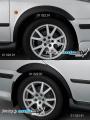 Nástavky blatníků normal - černý desén* (Škoda Octavia)