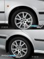 Nástavky blatníků normal - pro lak* (Škoda Octavia)