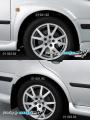 Nástavky blatníků široké - pro lak*,(Škoda Octavia)