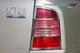 Rámeček zadních světel combi - chrom,škoda Octavia