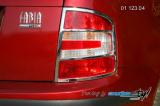 Rámeček zadních světel - combi, sedan - chrom r.v. od 9/2004 (Škoda Fabia)
