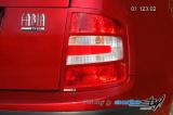 Rámeček zadních světel - combi, sedan - pro lak r.v. od 9/2004 (Škoda Fabia)