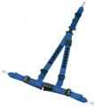 Bezpečnostní pás Schroth Rallye 3 ASM 3-bodový modrý - očko (E homologace) - pravý