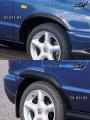 Nástavky Lemy blatníků normal - černý desén* (Škoda Felicia Facelift od r.v. 98)