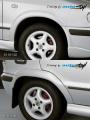Nástavky Lemy blatníků normal - pro lak* (Škoda Felicia Facelift od r.v. 98)