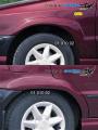 Nástavky Lemy blatníků široké - pro lak* (Škoda Felicia Facelift od r.v. 98)