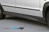 Nástavky prahů - černý desén* (Škoda Felicia Facelift od r.v. 98)